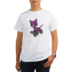 Cat Shoes Organic Men's T-Shirt