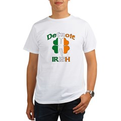 Detroit Irish Organic Men's T-Shirt