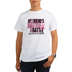 My Battle Too 1 (Friend BC) Organic Men's T-Shirt