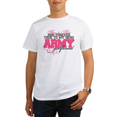 Strong&Sweet Army Girlfriend Organic Men's T-Shirt