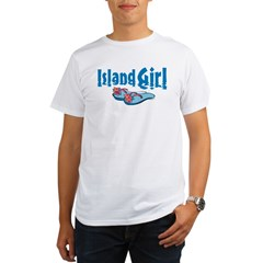 Island Girl 2 Organic Men's T-Shirt