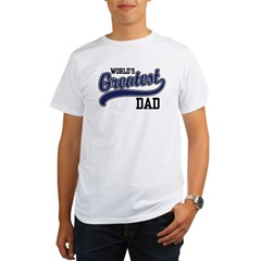 World's Greatest Dad Organic Men's T-Shirt