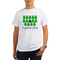 Being Different FROGS 3 Organic Men's T-Shirt