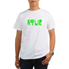 Rylie Faded (Green) Organic Men's T-Shirt