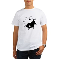 Yin Yang Organic Men's T-Shirt