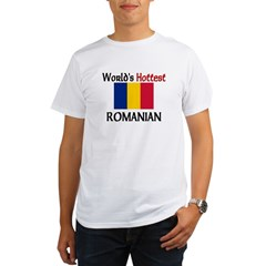 World's Hottest Romanian Organic Men's T-Shirt