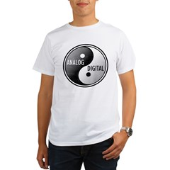 Analog vs Digital Organic Men's T-Shirt
