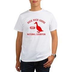 Duck Duck Goose National Champion Organic Men's T-Shirt
