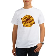 Down with the Brown Organic Men's T-Shirt
