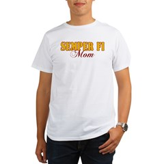Semper Fi Mom Organic Men's T-Shirt