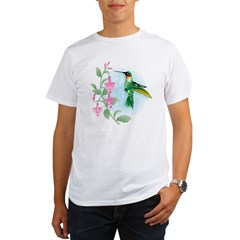 FUCIA HUMMINGBIRD Organic Men's T-Shirt