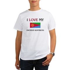 I Love My Eritrean Boyfriend Organic Men's T-Shirt