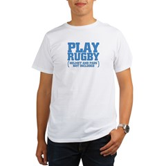No Pads in Rugby Organic Men's T-Shirt