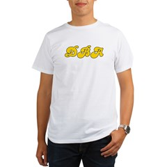 Retro DBA (Gold) Organic Men's T-Shirt