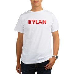 Retro Kylan (Red) Organic Men's T-Shirt