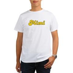 Retro Mimi (Gold) Organic Men's T-Shirt