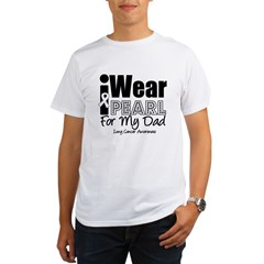 I Wear Pearl For My Dad Organic Men's T-Shirt