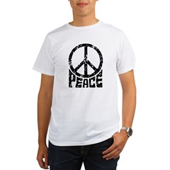 Peace Sign Organic Men's T-Shirt