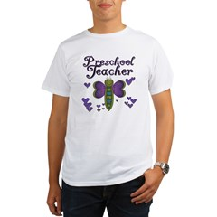 Butterfly Preschool Teacher Organic Men's T-Shirt