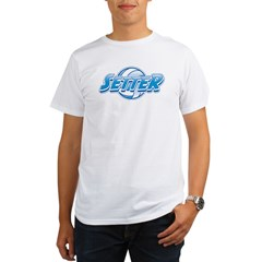 Volleyball Setter Organic Men's T-Shirt