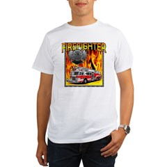 LADDER TRUCK Organic Men's T-Shirt