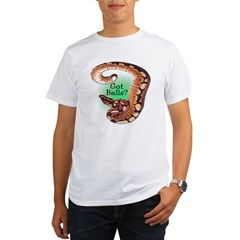 SPIDER BALL PYTHON SNAKE Organic Men's T-Shirt