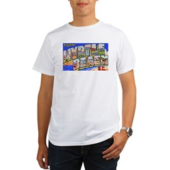 Myrtle Beach South Carolina (Front) Organic Men's T-Shirt