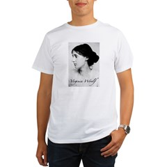 Virginia Woolf Organic Men's T-Shirt
