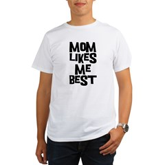 Mom Likes Me Organic Men's T-Shirt