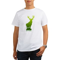 DEER STAG GRAPHIC Organic Men's T-Shirt