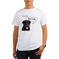 Rose Sez... Pet Me Organic Men's T-Shirt