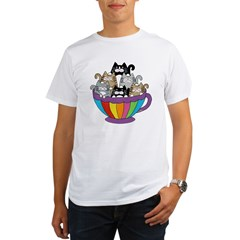 TS_6-cats-coffee-mug Organic Men's T-Shirt
