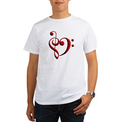 Clef Hear Organic Men's T-Shirt