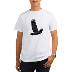 Isaiah 40:31 Eagle Organic Men's T-Shirt