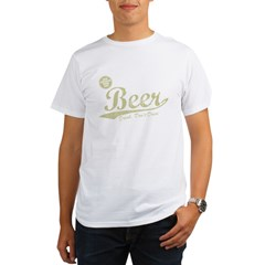 BEER_CHEAPER_THAN_GAS-dark Organic Men's T-Shirt