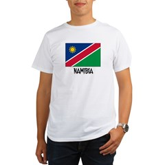 Namibia Flag Organic Men's T-Shirt