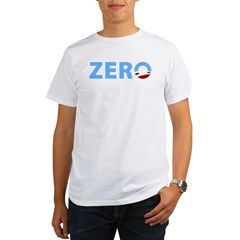 Anti Obama ZERO Organic Men's T-Shirt