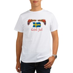 Sweden God Jul 2 Organic Men's T-Shirt