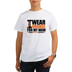 I Wear Orange For My Mom Organic Men's T-Shirt