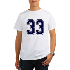 NUMBER 33 FRON Organic Men's T-Shirt