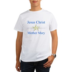 Jesus Christ - Mother Mary Organic Men's T-Shirt