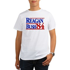 Reagan Bush 1984 Organic Men's T-Shirt