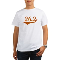 26.2 Retro Organic Men's T-Shirt