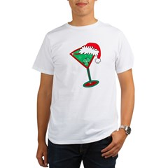 Christmastini Organic Men's T-Shirt