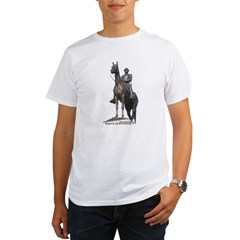 Robert E. Lee at Gettysburg Organic Men's T-Shirt