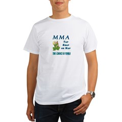 MMA Teddy Bear Organic Men's T-Shirt