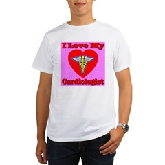 I Love My Cardiologis Organic Men's T-Shirt