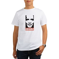 Comic Style Barack Obama Organic Men's T-Shirt