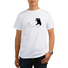 Exit, Pursued By A Bear - Organic Men's T-Shirt