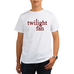 Twilight Fan Red Organic Men's T-Shirt